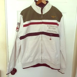 Aeronautica Militare Zip Up Jacket